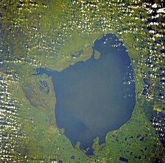 File:240px-Okeechobee lake from space.jpg