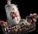 Viking Ship 2 Sticker