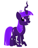 Twilight Sparkle (purple changeling)