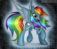 Rainbow dash in her glory by ap0st0l-d5d76ml