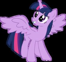 Twilight sparkle alicorn vector by mlp mayhem-d5vvw28