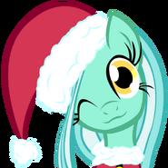 Lyra heartstrings chrismas pony by a bchs brony-d4ik282