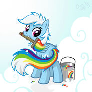 7718 - don komandorr paint rainbow dash