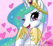 Cute Princess Celestia by artist-johnjoseco