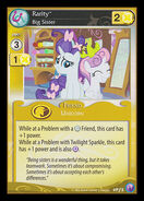 Rarity, Big Sister