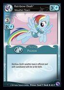 Rainbow Dash, Weather Team