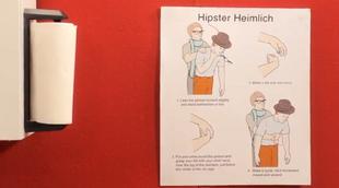 Hipster+Heimlich