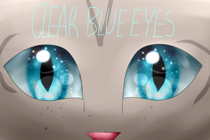 Clear blue eyes title