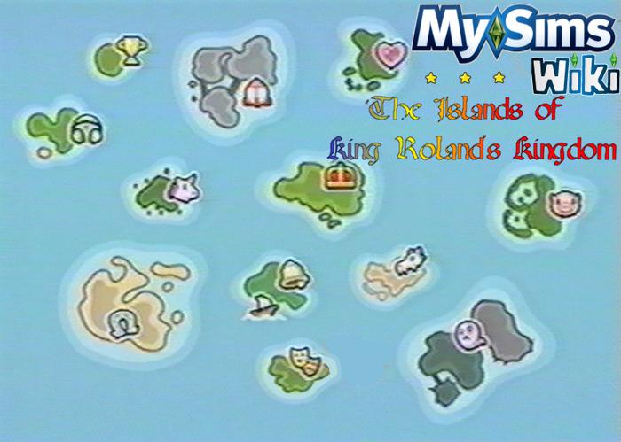 MySims Kingdom Island Portal Banner