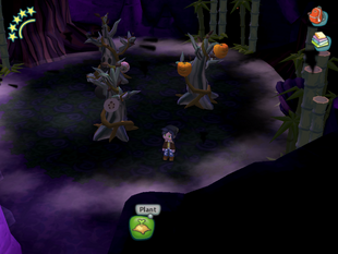 Spooky Forest Cave