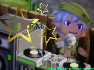 DJ Leaf Wallpaper