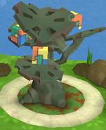Cube Puzzle Tree