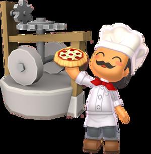 Gino and His Flour Machine