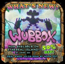 Ethereal wubbox availability