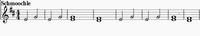 Sheetmusic schmoochle gold 1