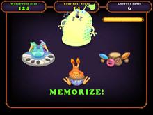 Mute in memory game