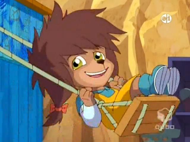 File:Lily Hedgehog on a swing.jpg