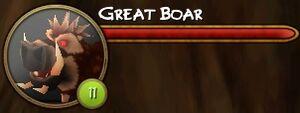 Great boar
