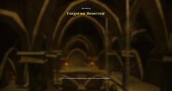 Forgotten reservoir load