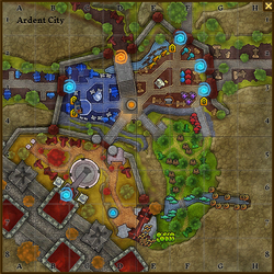 Ardent city map