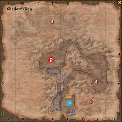 Shadow's den map