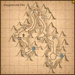 Daggertooth pits map