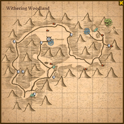 Withering woodland map