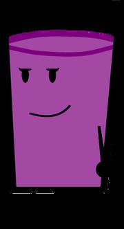 Violet standing