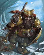Tired dwarf by gansone89-d5ggj21