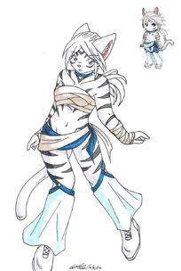 Gaia Avi 2 White Tiger by Koshkio