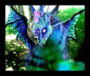 Sold majestic winged dragon by wood splitter lee-d5jjsx8