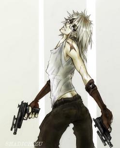 Vampire Soldier COLOUR by ShadiChizu