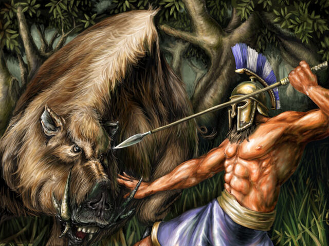 File:Hercules catching the Erymanthian Boar.jpg