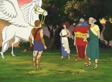 Bellerophon and Pegasus 45