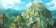 Asgard by a modern artist