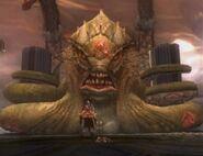 Kraken in God of War II