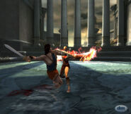 Perseus vs Kratos in God of War II (2)