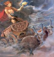 Thor and his chariot