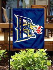 Drexel Dragons Garden Flag