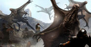 Wrath of the Titans Concept Art by Aaron Sims Co 07a