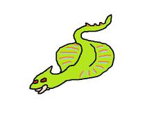 Glide snake