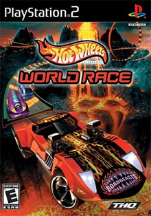 Hot Wheels World Race Coverart