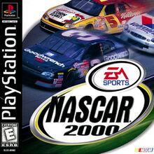 NASCAR 2000 PlayStation Coverart