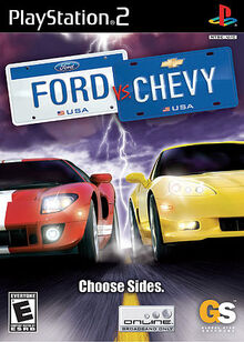 Ford vs. Chevy cover