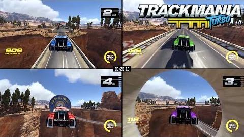Trackmania Turbo Multiplayer trailer – More drivers, more fun! UK