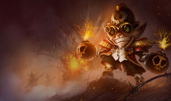 Ziggs.Major Ziggs.skórka