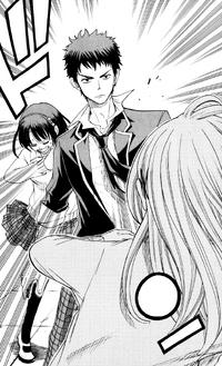 Urara protects Rin