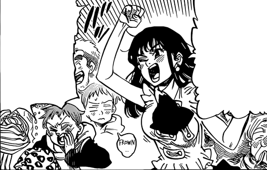 File:Diane and King cheering they friends on.png