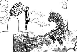 King vs. Helbram in Kingdom of Liones
