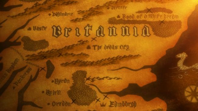 Map of Britannia 1